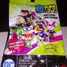 "Teen Titans GO! 2"" Mini Figure Mystery Bag Set of 4 sealed bags ~Series 3~"
