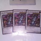 3x Yazi, Evil of the Yang Zing NECH-EN051 1st Edition Ultimate Rare