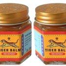 Thai Original Tiger Balm Red Warm Massage 1.06 Oz Pack 2