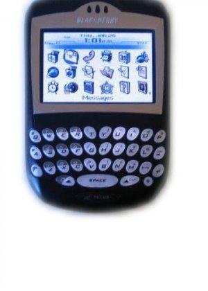 Used Cingular Blackberry 7290 PDA Cell Phone