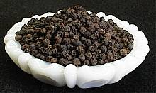 black pepper whole 5 lb jar  $39.99--spices seasonings & herbs