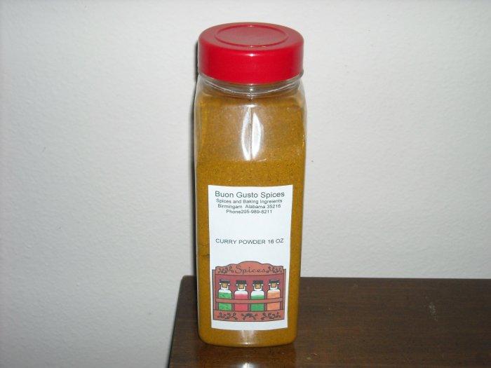 curry powder 16 oz  $11.99--spices seasonings & herbs