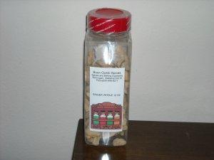 ginger whole 12 oz JAR  $11.99  --spices seasonings & herbs