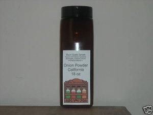 onion powder california 18 oz JAR  $11.99--spices seasonings & herbs