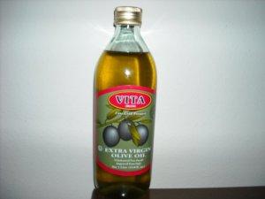 Extra Virgin Olive Oil -cold pressed - [ pack of 4 ] 1 lt bottle $32.95