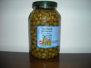 olives manzanilla green pitted 1 gallon 4 per case  $52.68