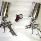 3 Pcs HVLP Spray Gun Kit