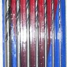 "7 Pcs 12"" Wood Drill Bits Set"