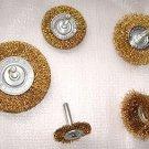 36 Pcs Steel Wire Wheel Brush Set