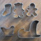 5 NEW Christmas Cookie Cutters