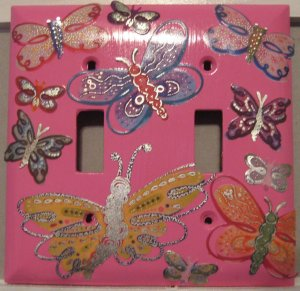 Butterfly Double Toggle Cover
