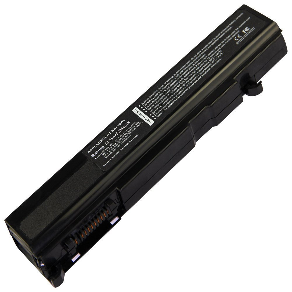 New Battery for Toshiba PA3357U-1BRL PA3357U-2BRL PA3357U-3BRL PA3456U-1BRS 10.8V 5200mAh