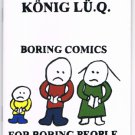 Booklet; Boring Comics for Boring People
