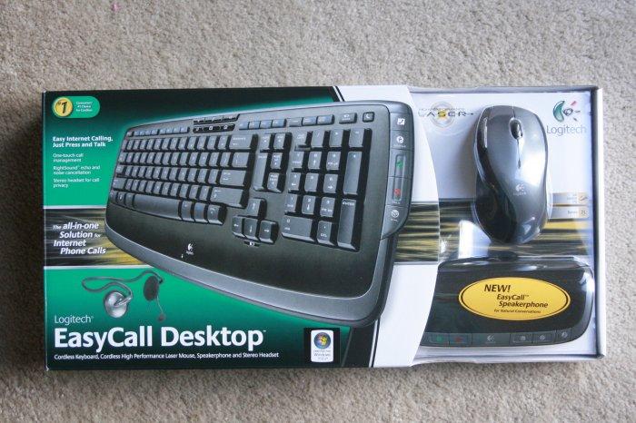 ***ON HOLD***NEW*Logitech EasyCall Desktop SEALED!!!