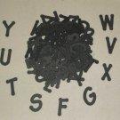 Scrapbooking Sizzix Lollipop Alphabet - Black
