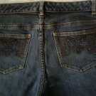 Michael Kors Beaded Women's Stretch Jeans Size 8