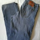 Worn Light Distressed Women's Stretch Jeans Size 10