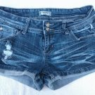 Southgirl Low Rise Distressed Jean Shorts  7