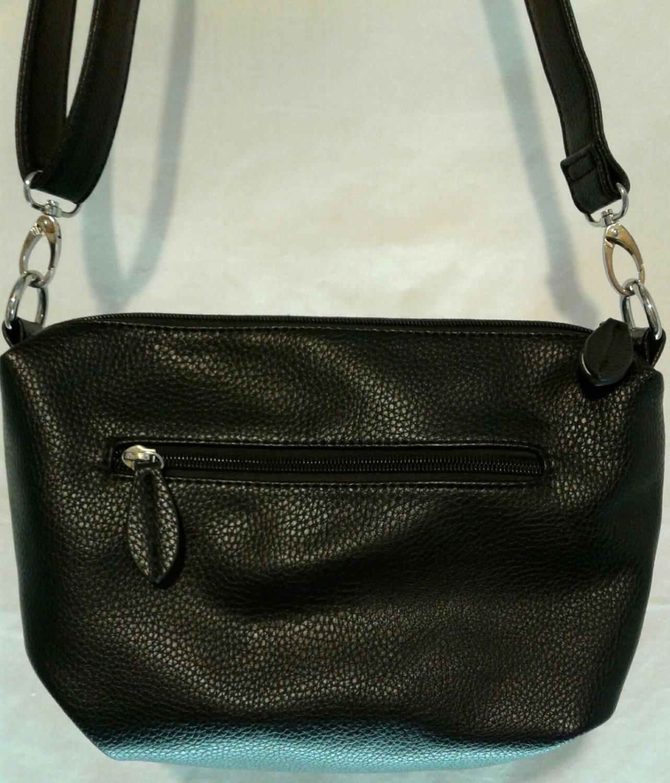 Simple Plain Black Shoulder Bag
