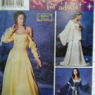 Simplicity #0603 Costume for Adults Pattern Gowns Size DD 4,6,8,10