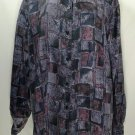 Casual Corner Vintage 100% Silk Blouse