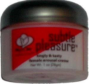 Subtle Pleasure Female Arousal Creme
