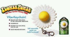 Flower Power Keychain