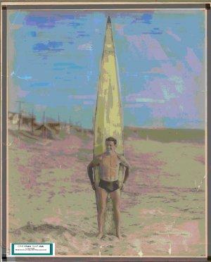 Dick Huddleston Surfer