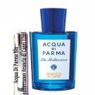 Acqua Di Parma Blu Mediterraneo Arancia di Capri Sample Travel Spray 12ml