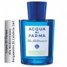 Acqua Di Parma Blu Mediterraneo Bergamotto Di Calabria Sample Travel Spray 2ml