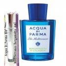 Acqua Di Parma Blu Mediterraneo Bergamotto Di Calabria Sample Travel Spray 6ml