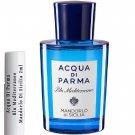 Acqua Di Parma Blu Mediterraneo Mandorlo Di Sicilia Sample Travel Spray 2ml