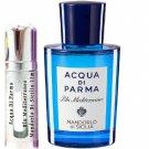 Acqua Di Parma Blu Mediterraneo Mandorlo Di Sicilia Sample Travel Spray 12ml