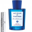 Acqua Di Parma Blu Mediterraneo Mirto Di Panarea Sample Travel Spray 2ml