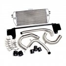Eurojet 'Race' Front Mount Intercooler (Polished pipes/Black couplers)