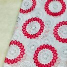 african fabric lace Big Swiss Voile lace Pink White Swiss Voile Lace 5 yards