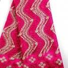 African lace fabric Swiss Lace fabric Tulle Lace fabric Pink African Fabric 5yrd