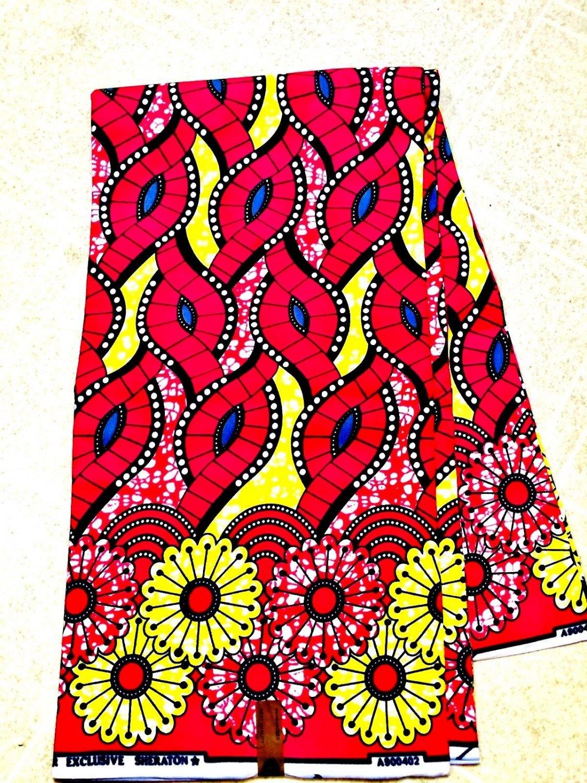 Holladais Wax print fabric/Super Wax Fabric/Ankara Wax fabric 6 yards