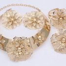 African Jewelry set, Gold jewelry set, wedding jewelry set, women jewelry set