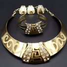 African Jewelry set/Gold jewelry set/wedding jewelry set/NIgeria wedding jewelry