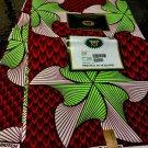 African Fabric  / Ankara Wax Fabric / Super Wax Fabric / Hollandais print /6yard