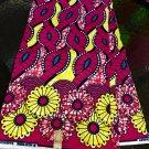 African Fabric / Holladais Print Fabric /Super Wax Fabric / ankara Fabric /6yard