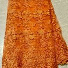 African Lace Fabric/ Tulle Lace Fabric / 5 yards