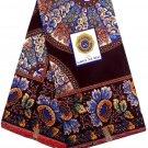 African Fabric  / Ankara Wax Fabric / Super Wax Fabric   /6yards