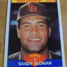 Vinatage Sandy Alomar Rookie Card 1989