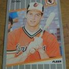 Vintage Brady Anderson Baseball Sportscard Fleer 1989