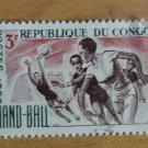 Vintage Republique Du Congo Stamp 1966