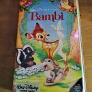 Rare! Bambi VHS Disney Black Diamond Clamshell Vintage