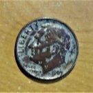 Rare! Dime Error Coin Copper 1963 No Mint