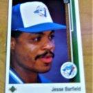 Vintage Jesse Barfield Baseball Scorecard 1988 #149